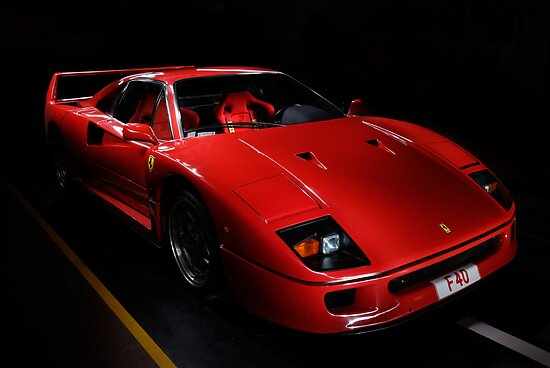 Ferrari F 40 by Frank Kletschkus