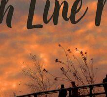 High Line Sunset Sticker