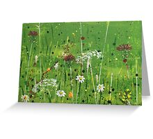 English meadow Greeting Card