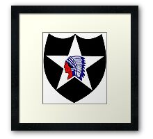2nd Infantry Division Logo Framed Print