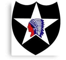 2nd Infantry Division Logo Canvas Print