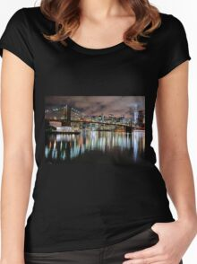 New York City Women's Fitted Scoop T-Shirt