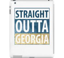 Straight Outta Georgia iPad Case/Skin