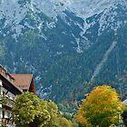 Autumn in Mittenwald - Germany by Arie Koene