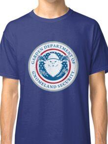 Gnomeland security. Classic T-Shirt