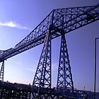 Transporter Bridge - Middlesbrough by KaMorgan
