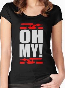 Oh My! (A Tribute to George Takei) Women's Fitted Scoop T-Shirt