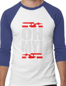 Oh My! (A Tribute to George Takei) Men's Baseball ¾ T-Shirt