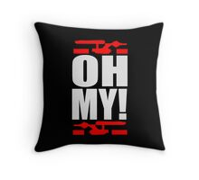 Oh My! (A Tribute to George Takei) Throw Pillow