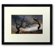 Solitary Together Framed Print