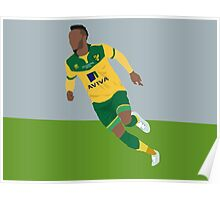 Nathan Redmond celebrates his Play-Off Final Goal Poster