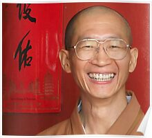 The happy monk Poster