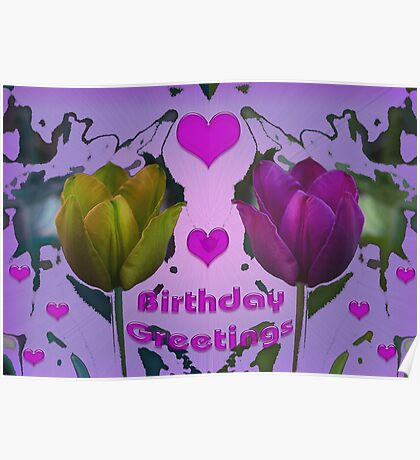 Birthday Greetings Poster