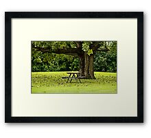 ~Come sit with me~  Framed Print