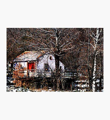 The red door #2 Photographic Print