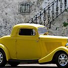 Yellow Coupe Hardtop by artstoreroom