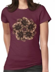 MANFLOWER 3 Womens Fitted T-Shirt
