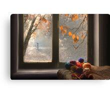 Window View Canvas Print