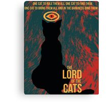 The Lord of the Cats Canvas Print