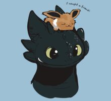 Toothless / Eevee by bmccamey