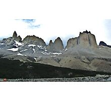 The Torres del Paine Photographic Print