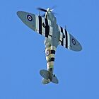 Vertical Climb - Supermarine Spitfire IX – Kent Spitfire  by Colin J Williams Photography