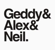 Geddy&Alex&Neil (Light Shirts) by oawan