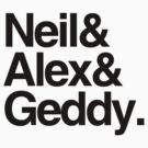 Neil&amp;Alex&amp;Geddy (Light Shirts) by oawan