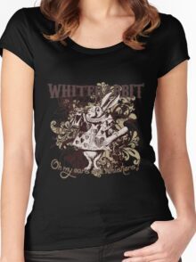 White Rabbit Carnivale Style Women's Fitted Scoop T-Shirt