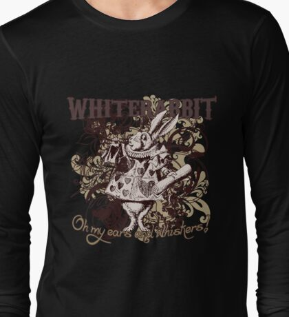 White Rabbit Carnivale Style Long Sleeve T-Shirt