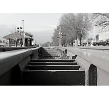 From the Tracks Photographic Print