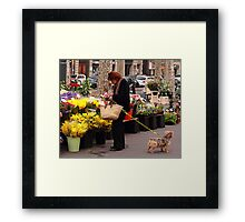 Yellow's not really my colour. Framed Print