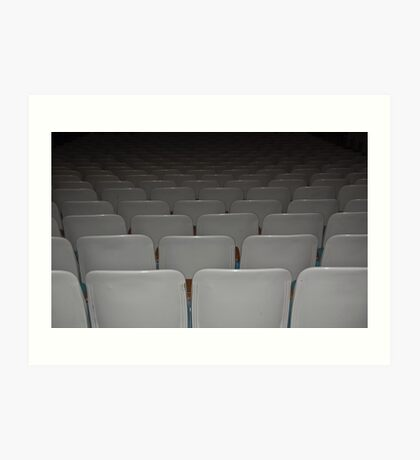 Empty Theater Art Print