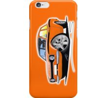 Ford Escort (Mk1) Mexico Orange iPhone Case/Skin