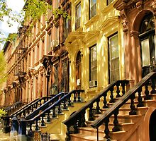 Harlem on a sunny afternoon by Mark  Johnstone