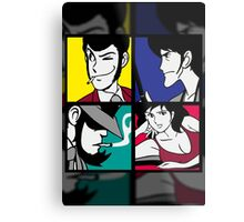 Lupin the third and his friends (2) Metal Print
