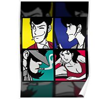 Lupin the third and his friends (2) Poster