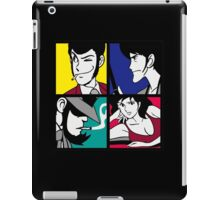 Lupin the third and his friends (2) iPad Case/Skin