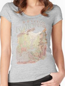 Adventure National Parks Women's Fitted Scoop T-Shirt