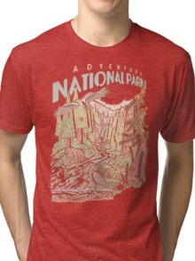 Adventure National Parks Tri-blend T-Shirt