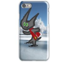 Cat IceSkating iPhone Case/Skin
