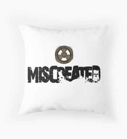 Miscreated Design 1 White (Official) Throw Pillow