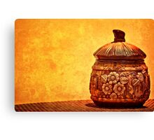 Cookie Cookie Jar Jar Canvas Print