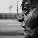 Worn Faces On The Street by Miku Jules Boris Smeets