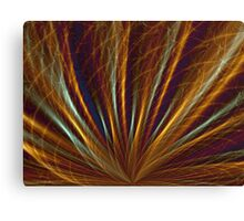 Abstract Fan 2 Canvas Print