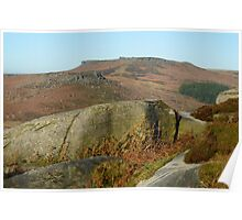 Burbage Valley Poster