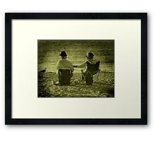 Will You Be There ? Framed Print