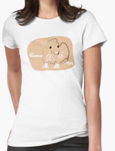 Rat Womens Fitted T-Shirt