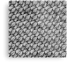 Zentangle Paradox Metal Print