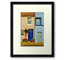 Colour by the coast Framed Print